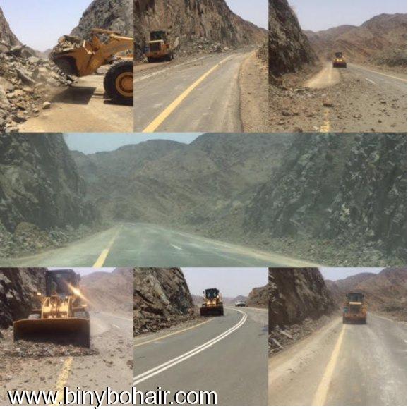وزارة النقل..تقوم بصيانة طريق قنونا 81e51297.jpg