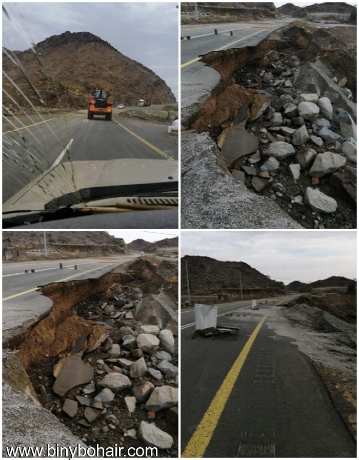 طريق قنونا... انهيارات جانبية بسبب fbd93278.jpeg