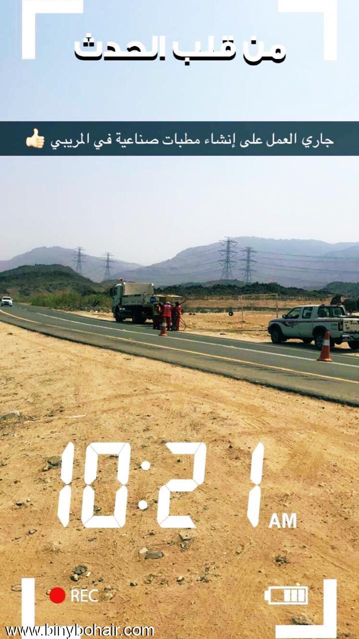 تسليم طريق قنونا لوزارة النقل hy962742.jpeg