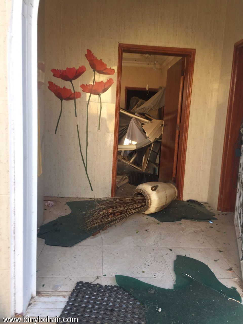 """بالصور ..سقوط قذائف منزل """" mej71887.jpeg"""