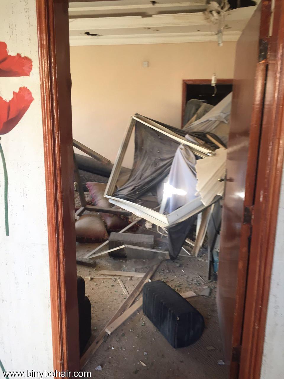 """بالصور ..سقوط قذائف منزل """" pgz71887.jpeg"""