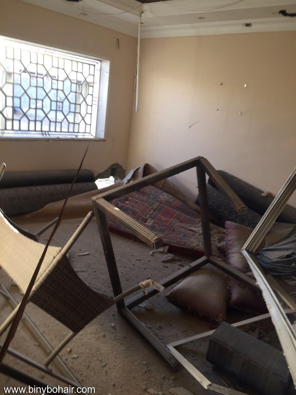 """بالصور ..سقوط قذائف منزل """" tu471887.jpeg"""